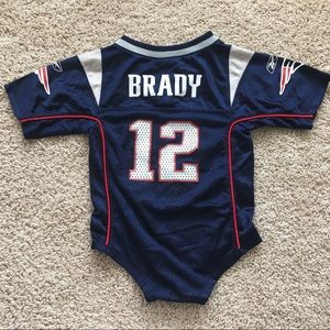 New England Patriots Tom Brady baby jersey 18M